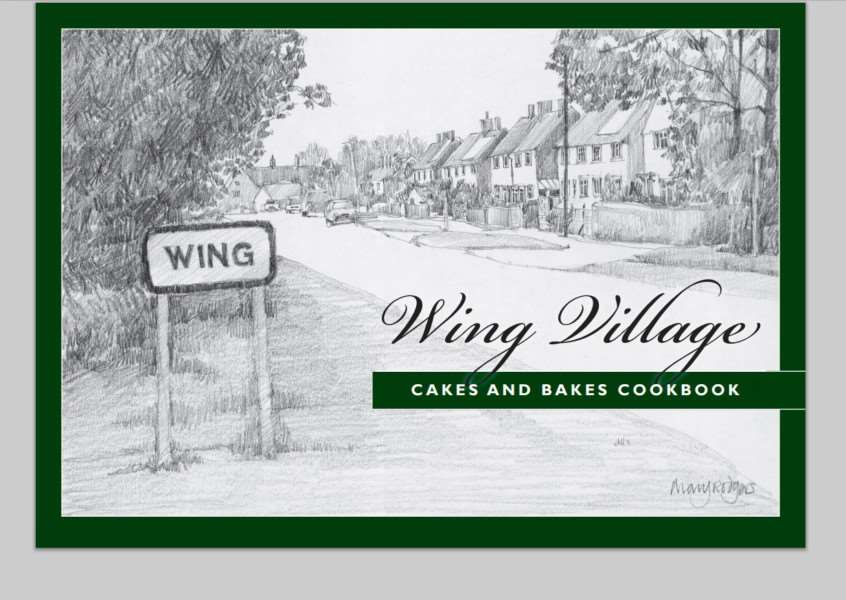 Wing Village Cakes and bakes recipe book cover