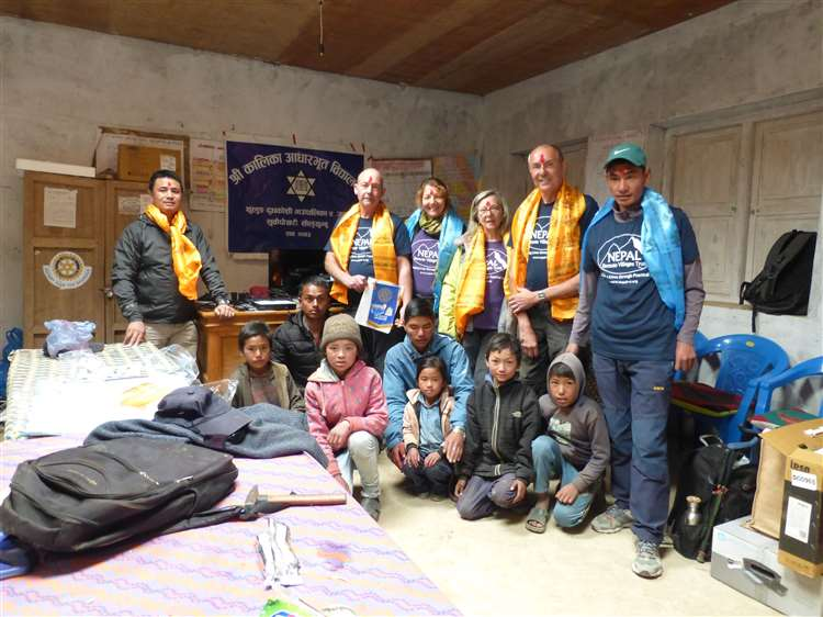 Rotary Club of the Deepings helps Nepalese children