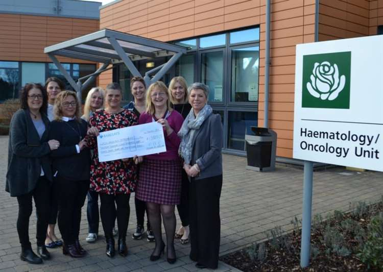 Breast cancer sufferer Caroline and her friends donate ...