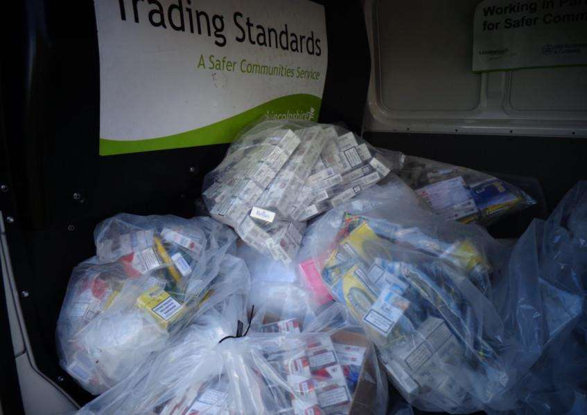 Fake cigarettes seized by Lincolnshire Trading Standards