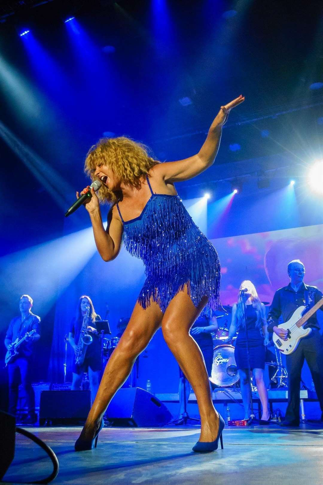 Tina Turner tribute.