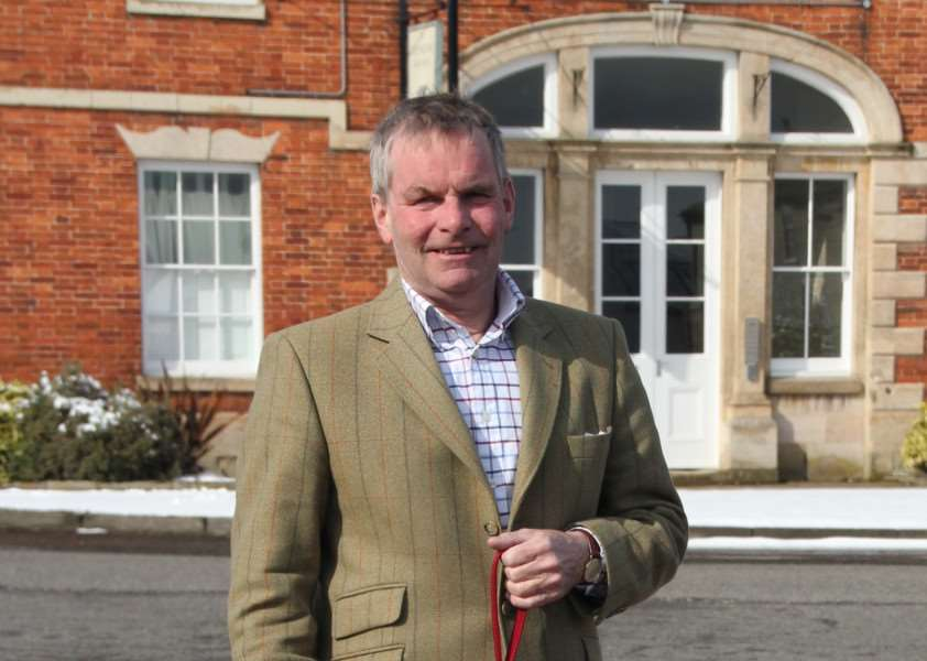 Lincolnshire County Council Leader, Coun Martin Hill.