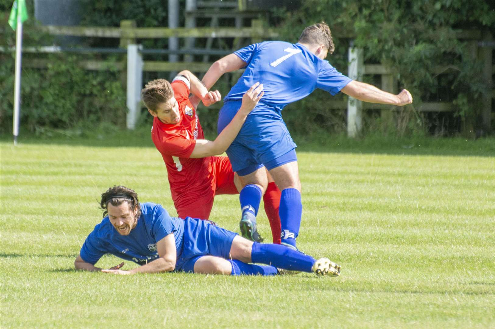 Cottesmore's Development side suffered a 3-1 opening day defeat against Newbold Verdon. Photo: Lee Hellwing (15490962)