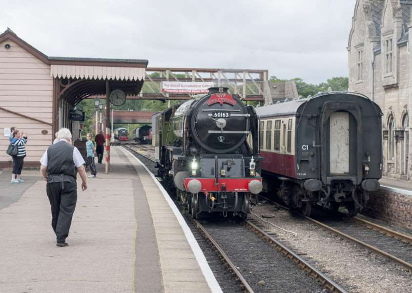 Driving experience at Nene Valley Railway - the Tornado locomotive. ''Photo: Lee Hellwing EMN-150821-151659001