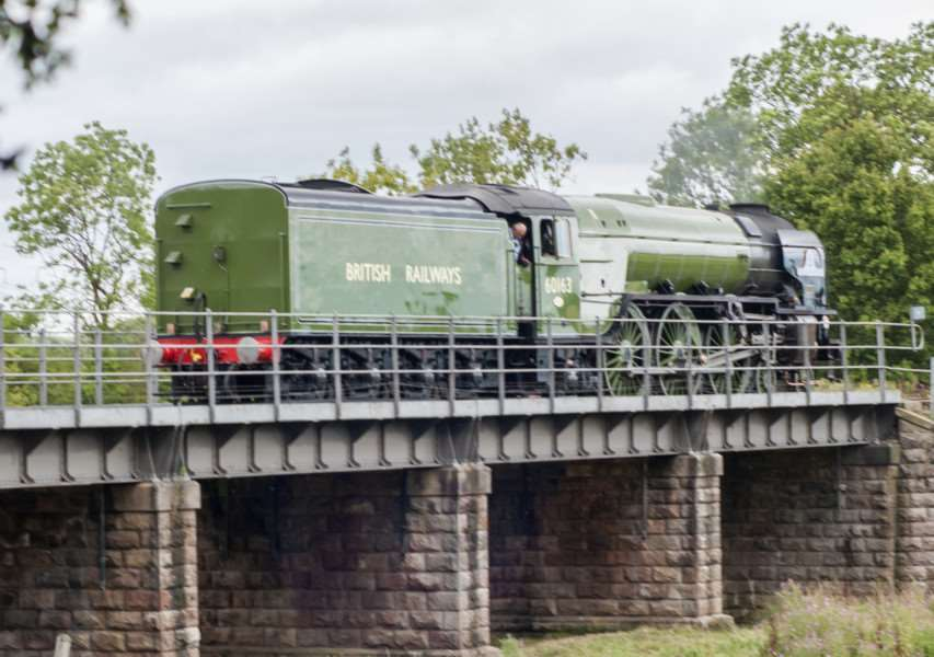 Driving experience at Nene Valley Railway - the Tornado locomotive. ''Photo: Lee Hellwing EMN-150821-151618001
