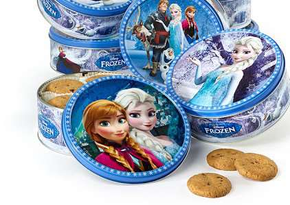 Disney Frozen choc chip cookies are among the affected products