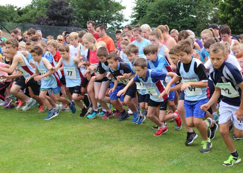Bourne Town Harriers in action at the Thurlby 10k EMN-150907-111606001