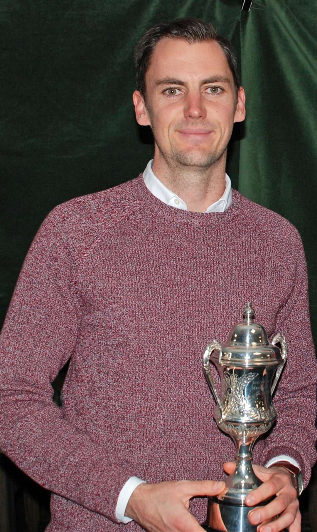 Rob McGarr won the Sandy Gray-Smith Medal at Burghley Park on Sunday with a net 66. (2211395)
