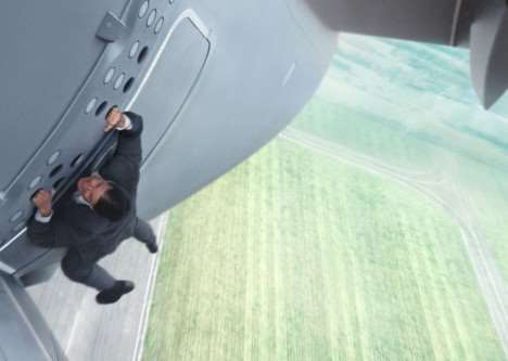 Tom Cruise in Mission Impossible: Rogue Nation. Photo: Skydance Productions/Paramount Pictures, www.missionimpossible.com