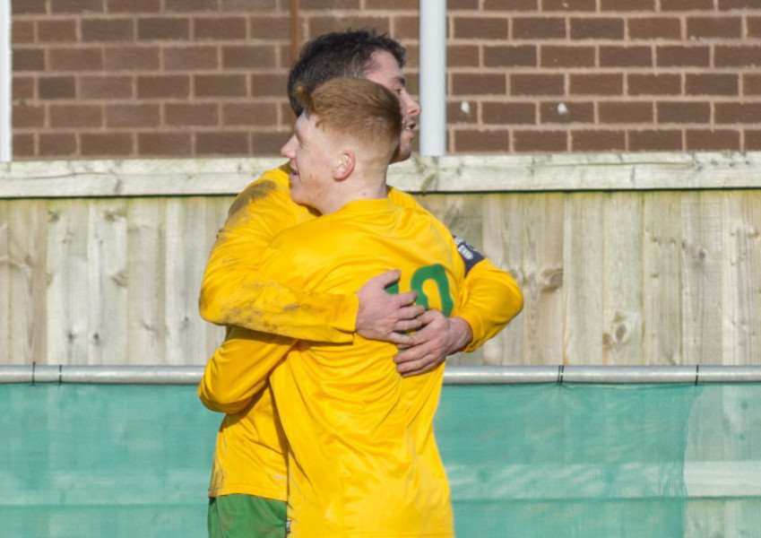 Scott Waumsley sealed Oakham's victory with their third goal in Saturday's win.
