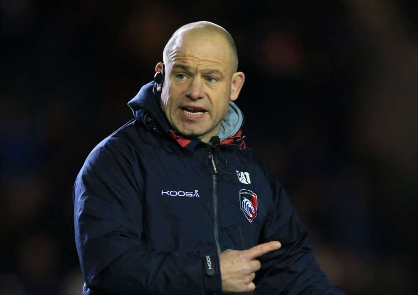Leicester Tigers' director of rugby Richard Cockerill during the European Champions Cup, pool four match at Welford Road, Leicester. Photo: Mike Egerton/PA Wire. EMN-151221-095355001