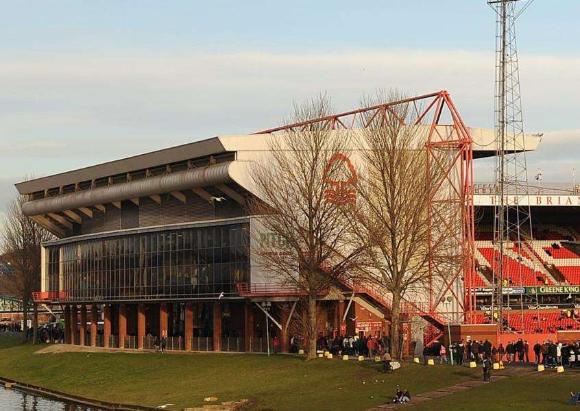 Nottingham Forest's City Ground.