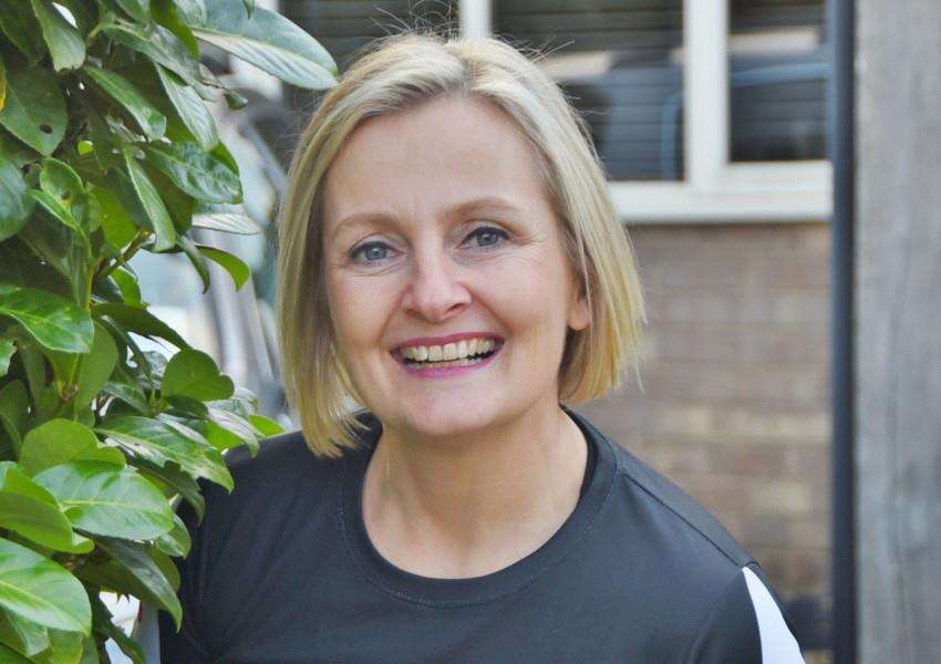 Clare Morley of Stamford training for next London Marathon EMN-160711-160403009