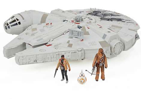 Star Wars The Force Awakens Millennium Falcon from Hasbro retails at as much as �119.99