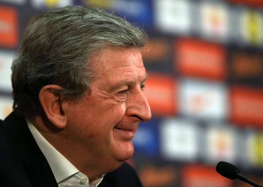 Departed: England manager Roy Hodgson