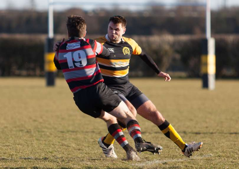 Oakham RFC v Dunstablians. Photo: Andy Balmford