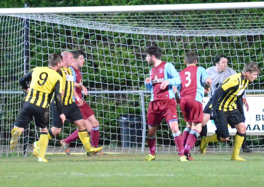 The second-half Holbeach equaliser at Deeping