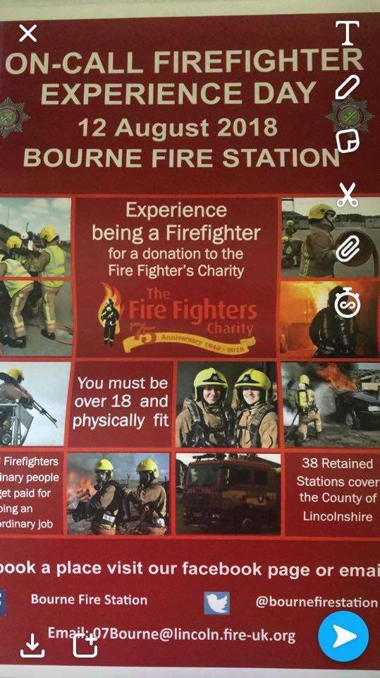 The Bourne Firefighters experience (3468638)