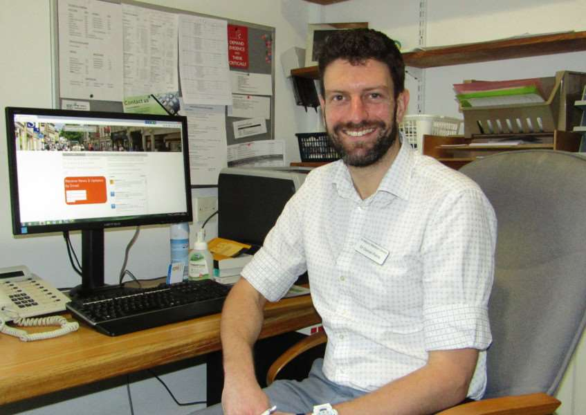 St Mary's Medical Centre GP Dr Daniel Petrie, who has launched Stamford Mental Health Forum EMN-160129-135804001