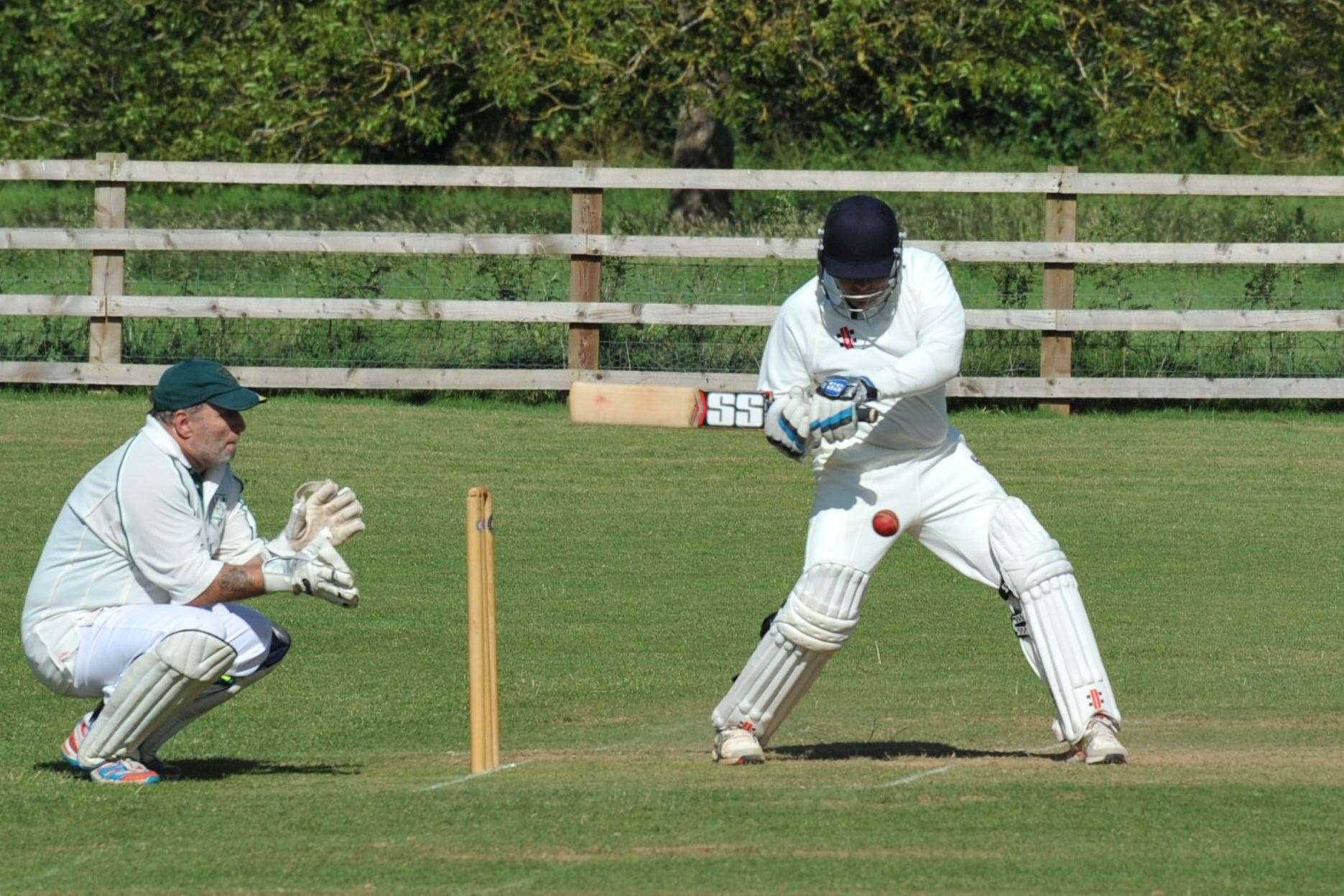 Burghley Park were six-wicket winners at Ufford Park in Sunday's Division Two clash. Photo: Alan Walters (13289784)