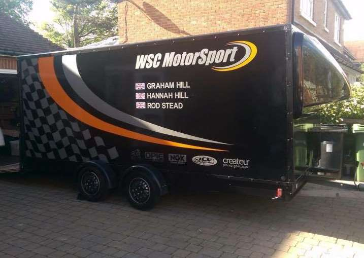 Alastair Smart is appealing for help tracing the missing race car and trailer EMN-160703-150823001