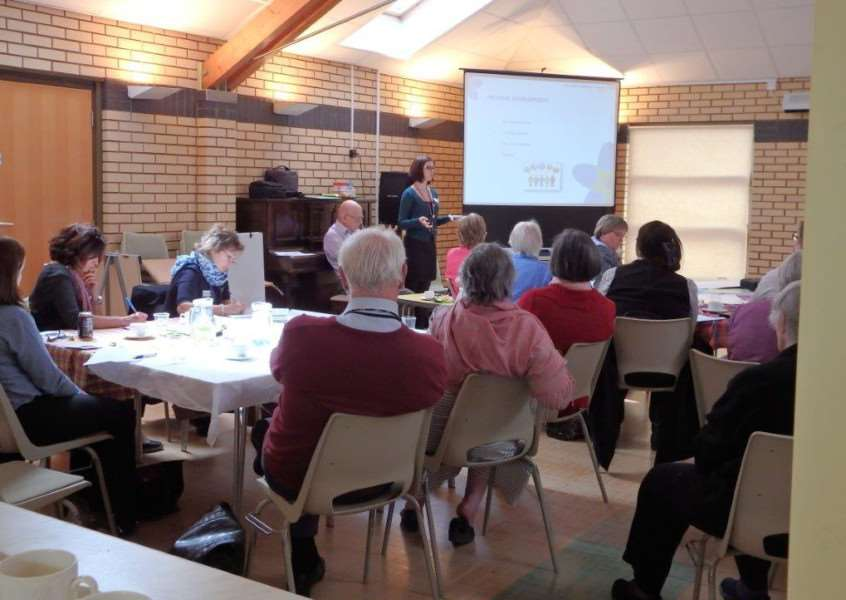 A conference on dementia held by Healthwatch Rutland. EMN-150519-153554001