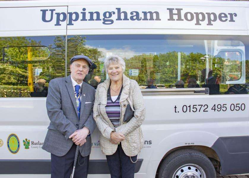 The Uppingham Hopper enters service Photo: Lee Hellwing