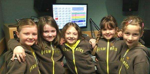 1st ketton Brownies who have made an appeal to find a new assistant