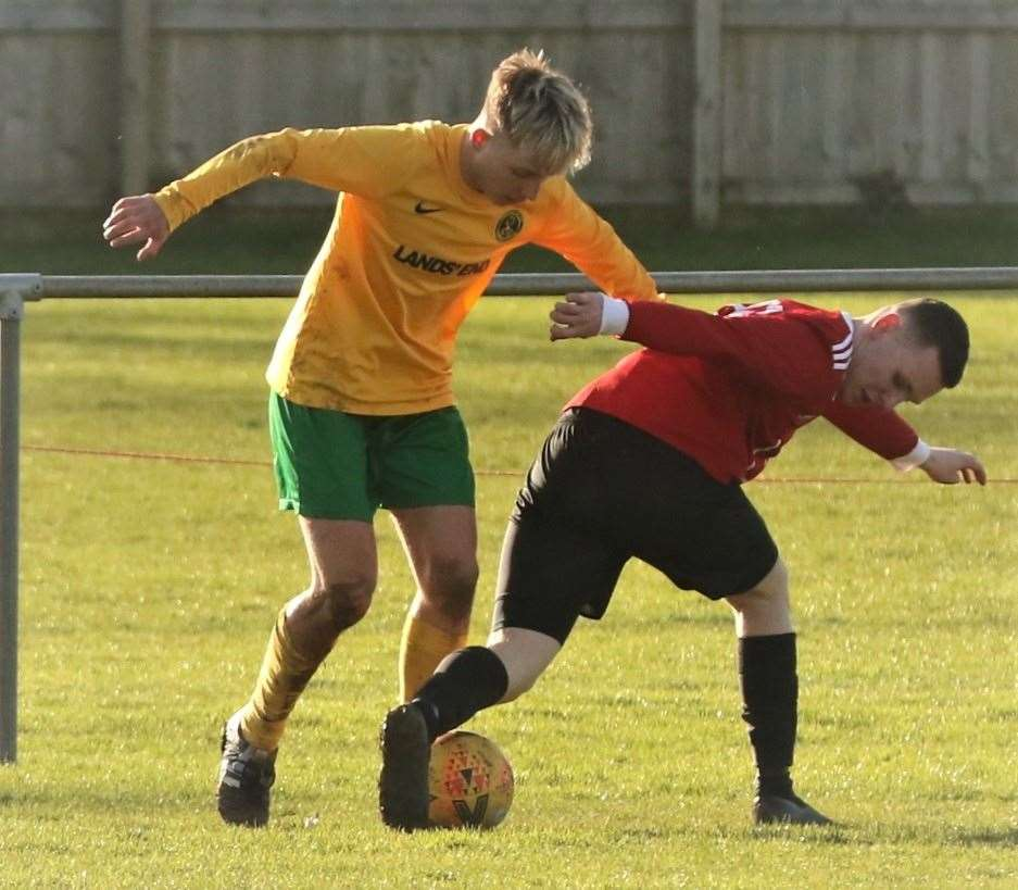 Oakham United were 3-2 home winners over Tydd on Saturday. Photo: Geoff Atton (28850362)