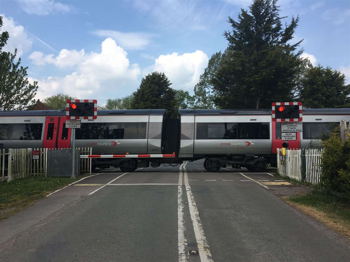 An upgrade means that there will be delays to level crossings (10190325)