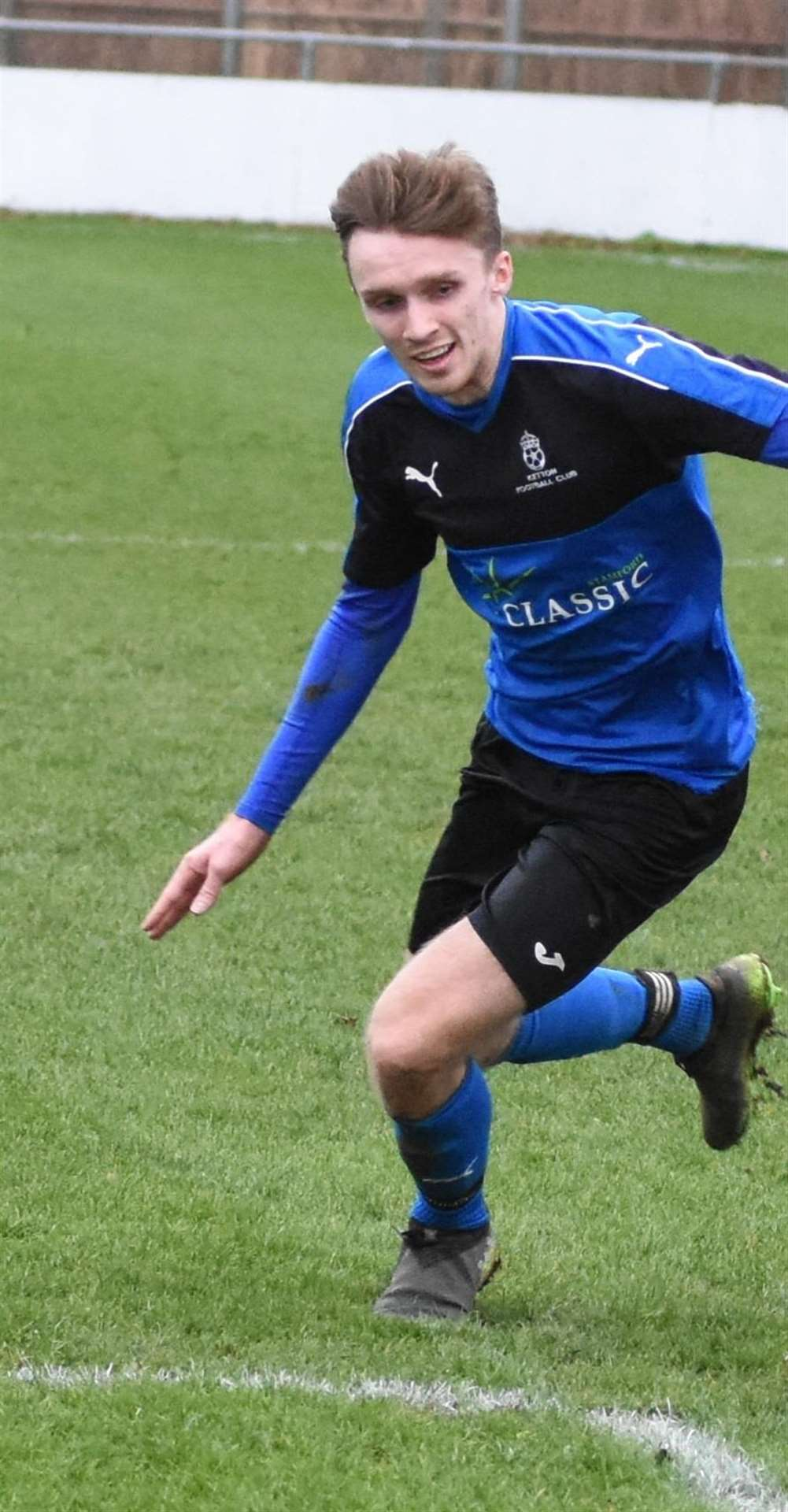 Tom Mann scored the match-winning penalty for Ketton. (6691216)
