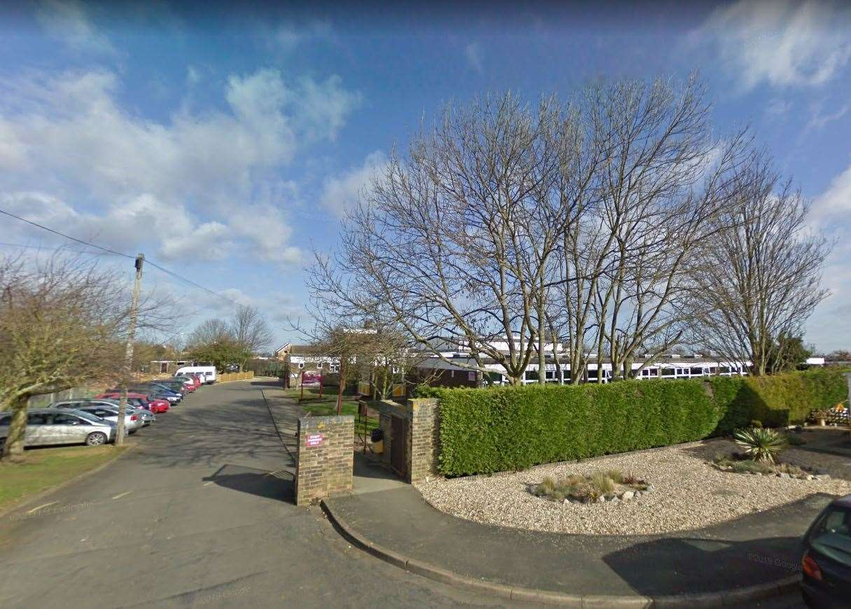 Market Deeping Community Primary School in Willoughby Avenue. Photo: Google