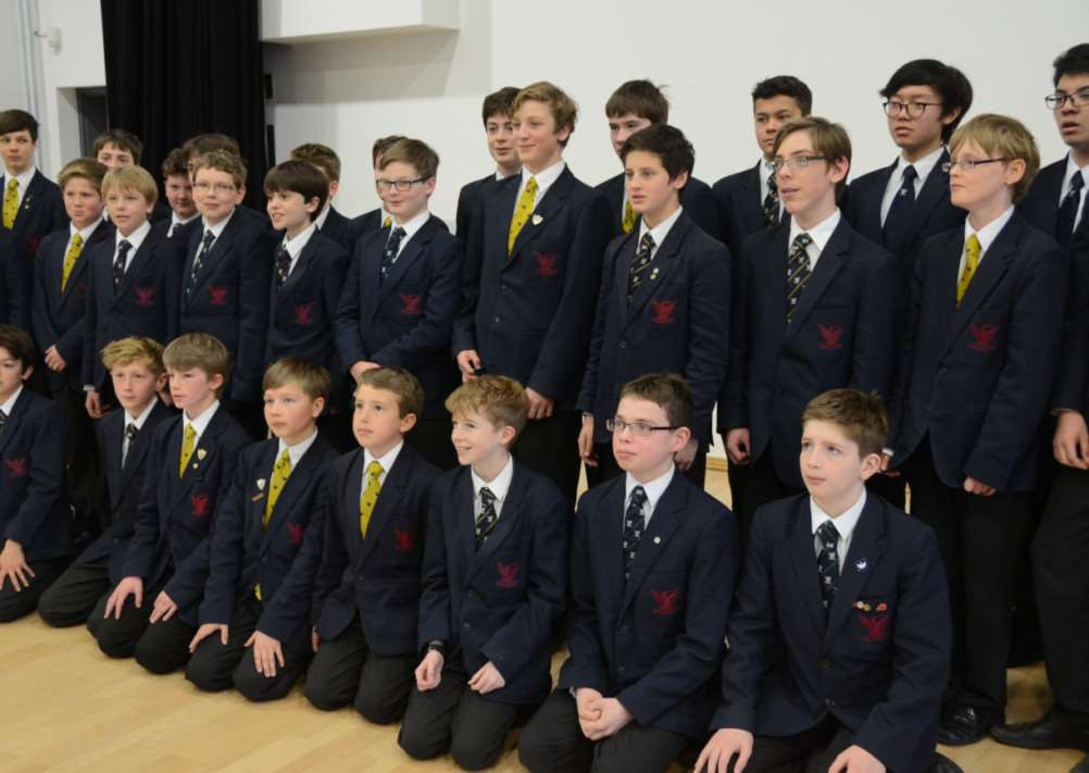 Music Festival 2015 Pictured are Vox, the Stamford School choir EMN-150320-143127009
