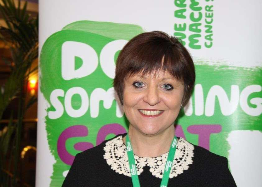 Tanya Taylor of Macmillan Cancer Support