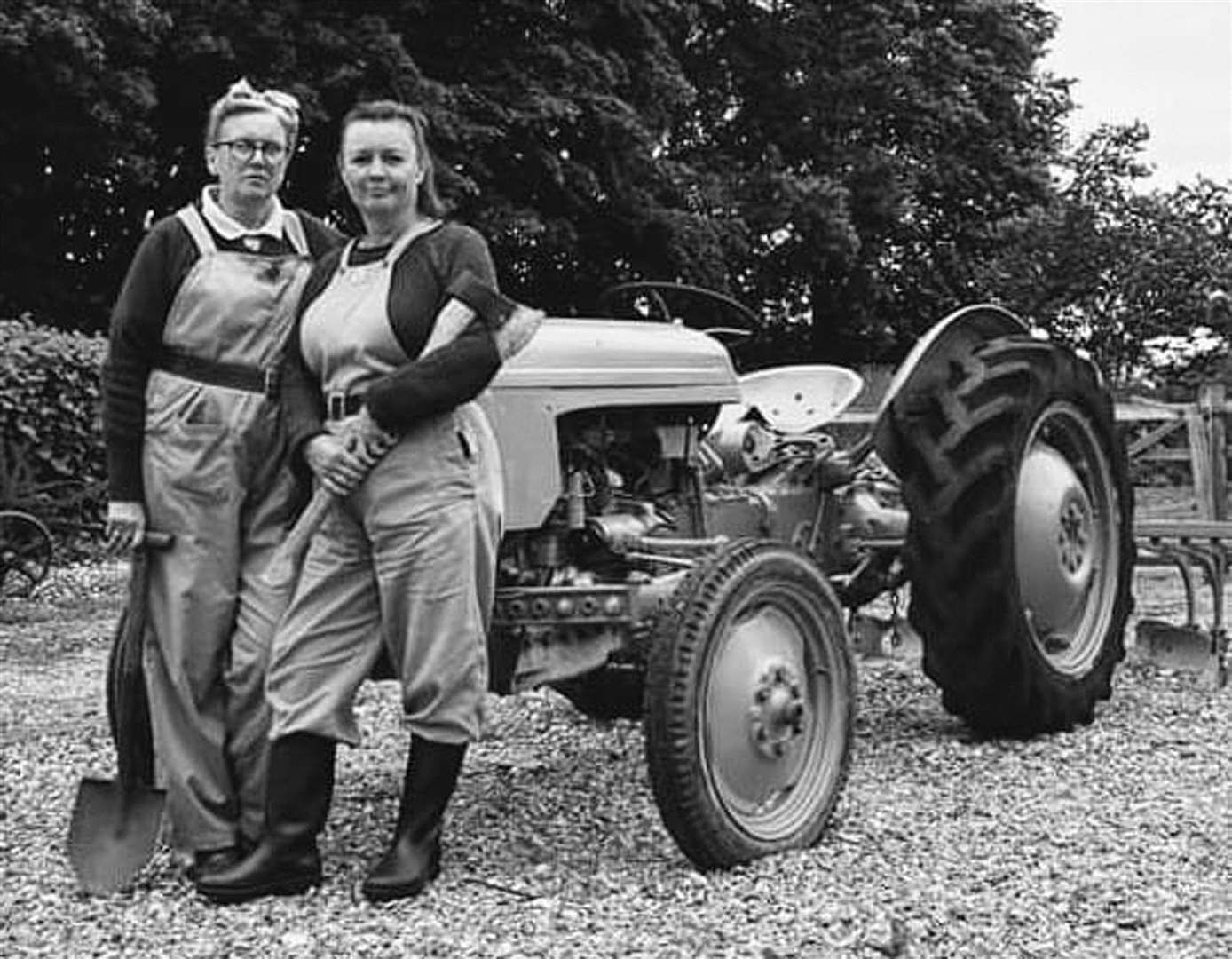 Land Girls are some of the people you will be able to meet at the Nene Valley Railway on Saturday