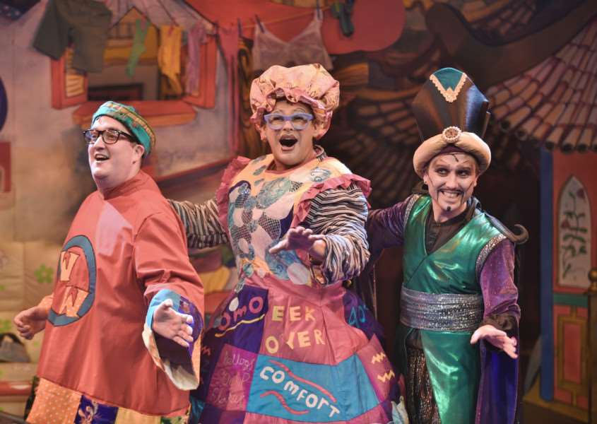 Aladdin the Key Theatre panto for 2015 EMN-150312-221512009