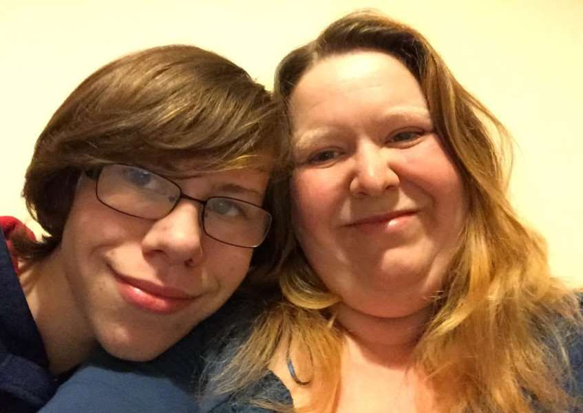 Oli and his mum Alice, a member of Lincolnshire Parent Carer Forum.