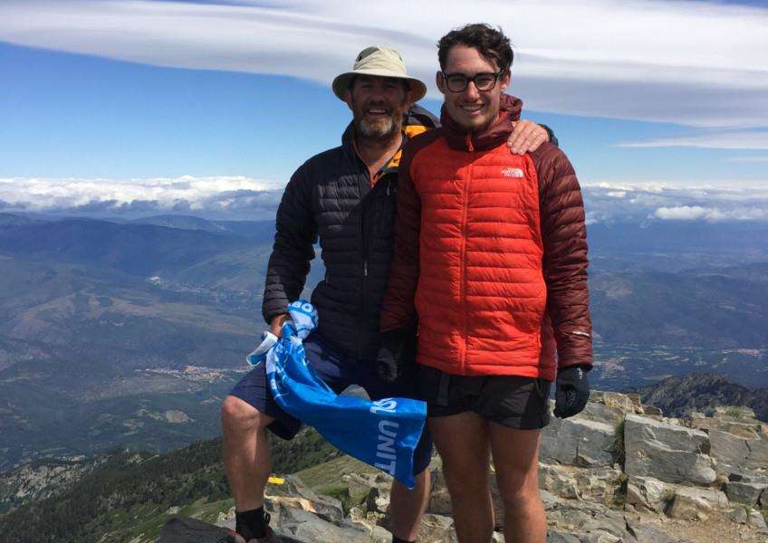 Jim Trevor and son James' charity trek across the Pyrenees
