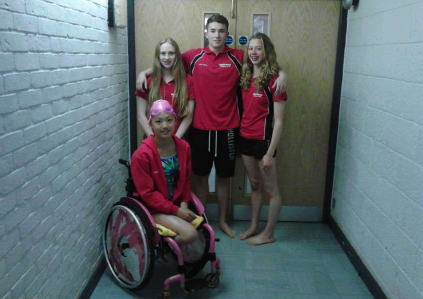 Deepings Swimmers Isabel Spinley, Bailie Harrison, Miki Lin-Gao and Alex Wray have been selected to compete at the British Championships and English Nationals this summer. EMN-160719-160306001