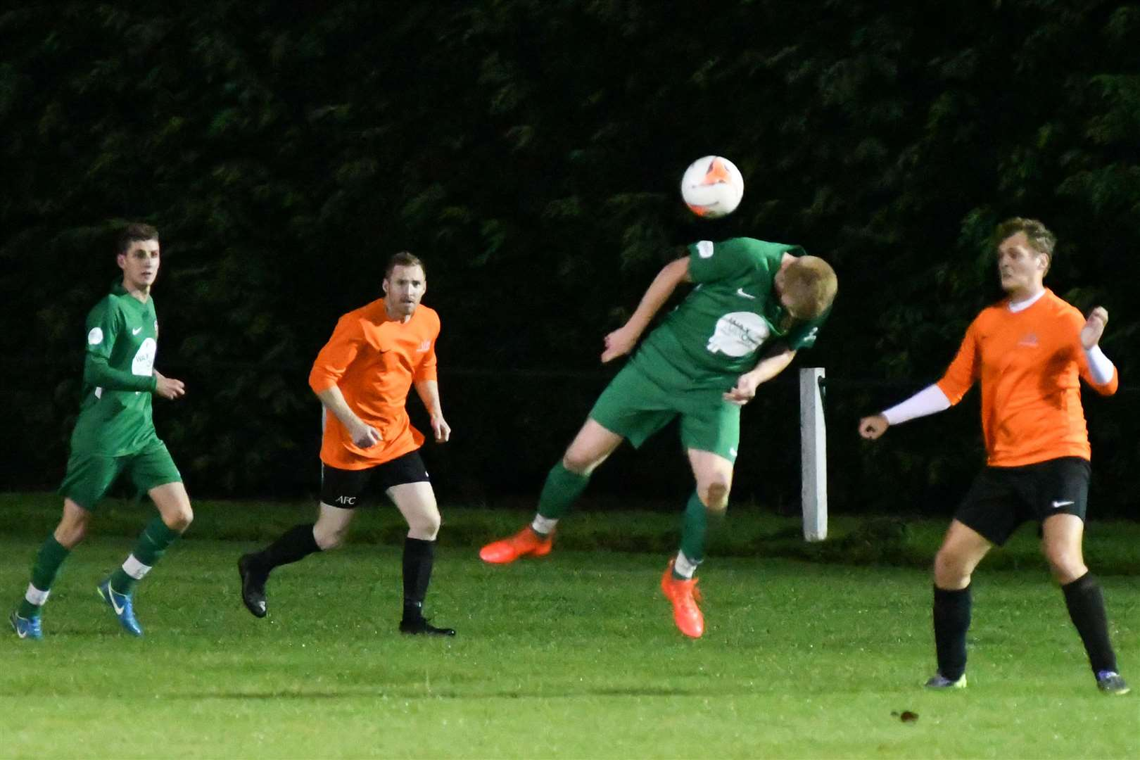 Cottesmore were 4-3 winners over Asfordby on Tuesday night. Photo: Alan Walters