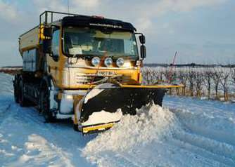 Fancy driving a gritter?