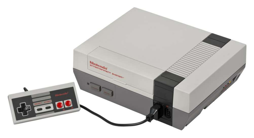 Nintendo Console hit Europe in 1987, one of the grandparents of modern gaming. NNL-151221-155250001