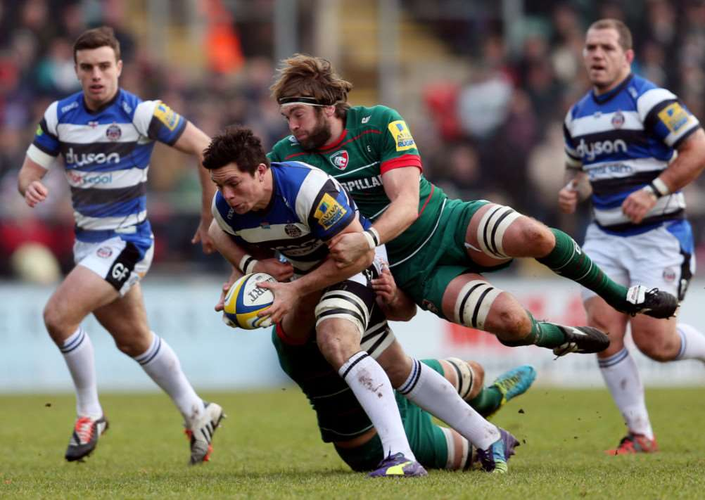 Leicester Tigers v Bath. Photo: PA/Wire EMN-150501-163828001