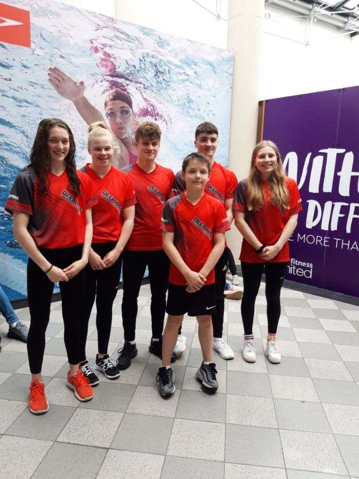 The Deepings squad competing at East Midlands: Bethany Eagle-Brown, Holly Leggott, Louis Metselaar, Christian Rollinson, Tom Adams and Hannah Matthews (10350636)