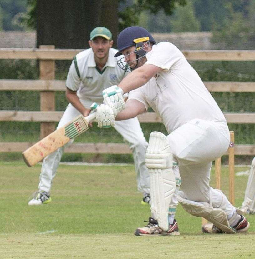Andrew Hulme hit a super century for Stamford Town. (15431161)