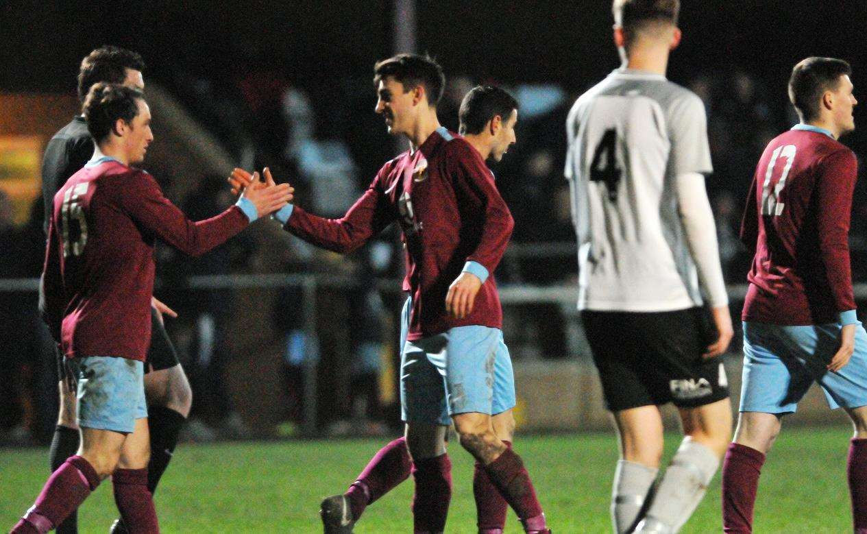 Cameron Johnson and Henry Dunn netted for Deeping on Tuesday night. (6409938)