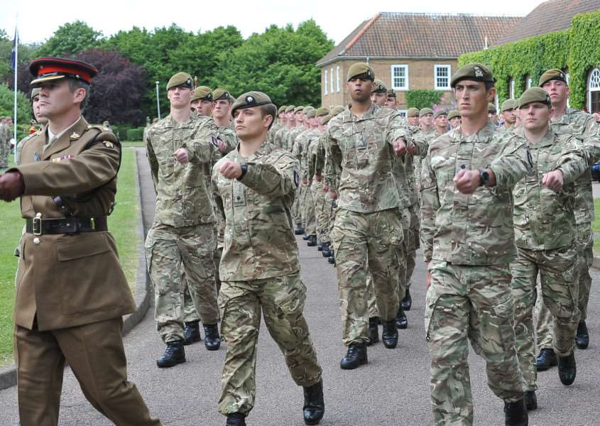 The 2nd Royal Anglians Regiment at Kendrew Barracks EMN-140625-143056009
