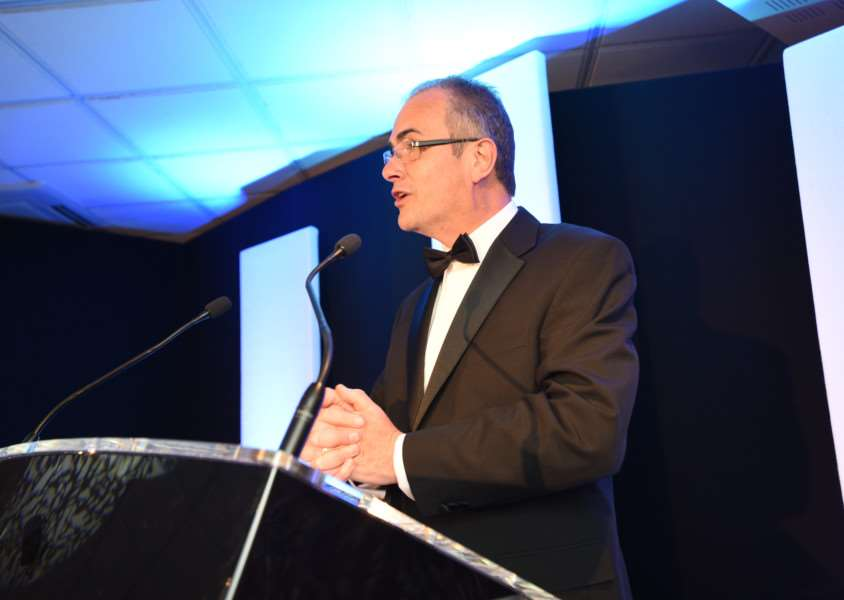 Stamford Mercury Business Awards 2015 MC Melvyn Prior EMN-150516-003025009