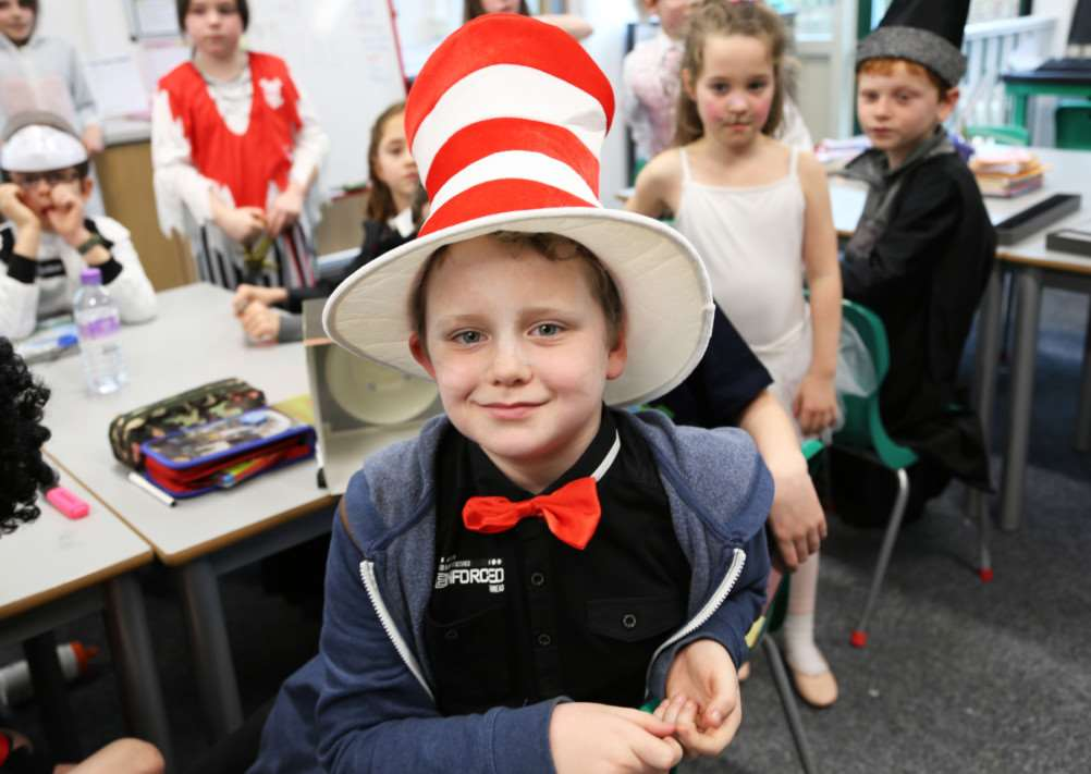 Catmose Primary World Book Day. EMN-140314-155050001