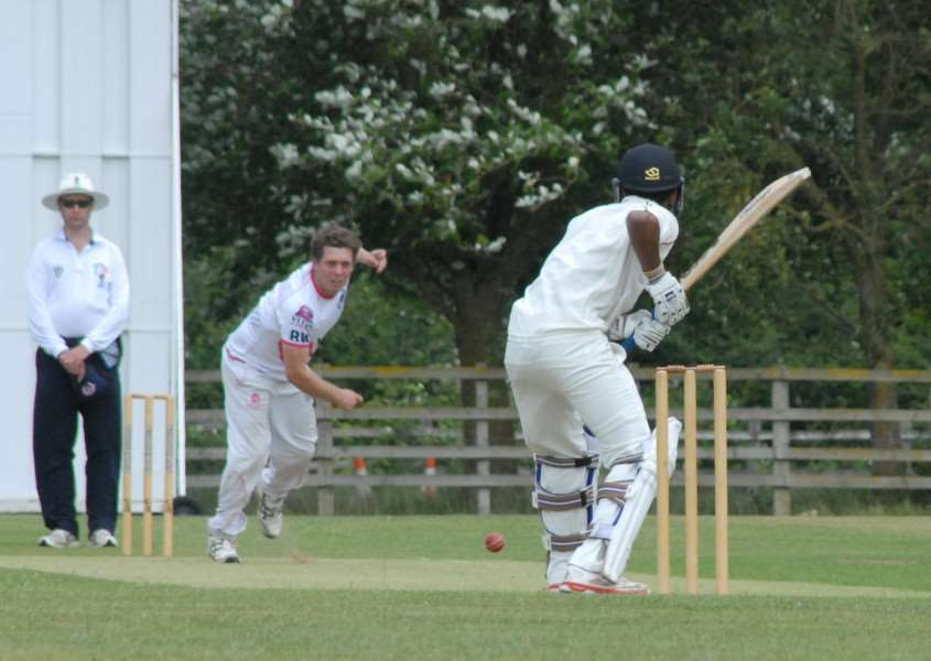 Ketton Lions CC v March Town CC. Photo: John Evely EMN-150607-105115001
